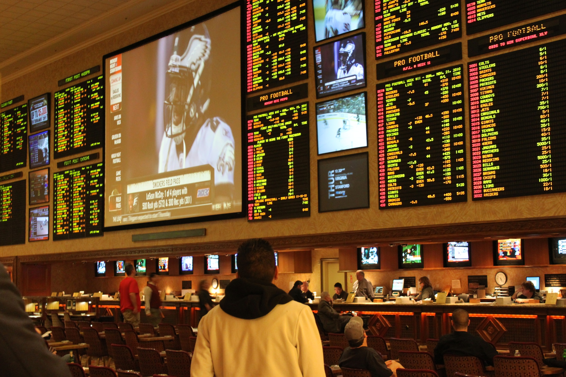 Prohibiting Bookmakers' activities
